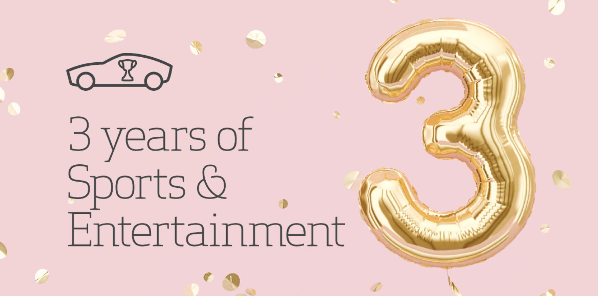 Blog 3 Years Sandm