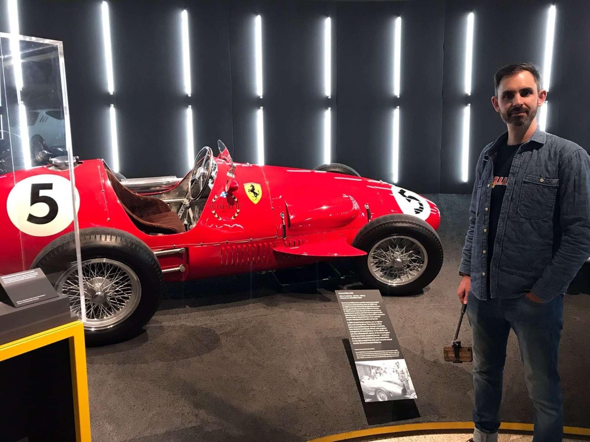 Ferrari Exhib No 5 Red