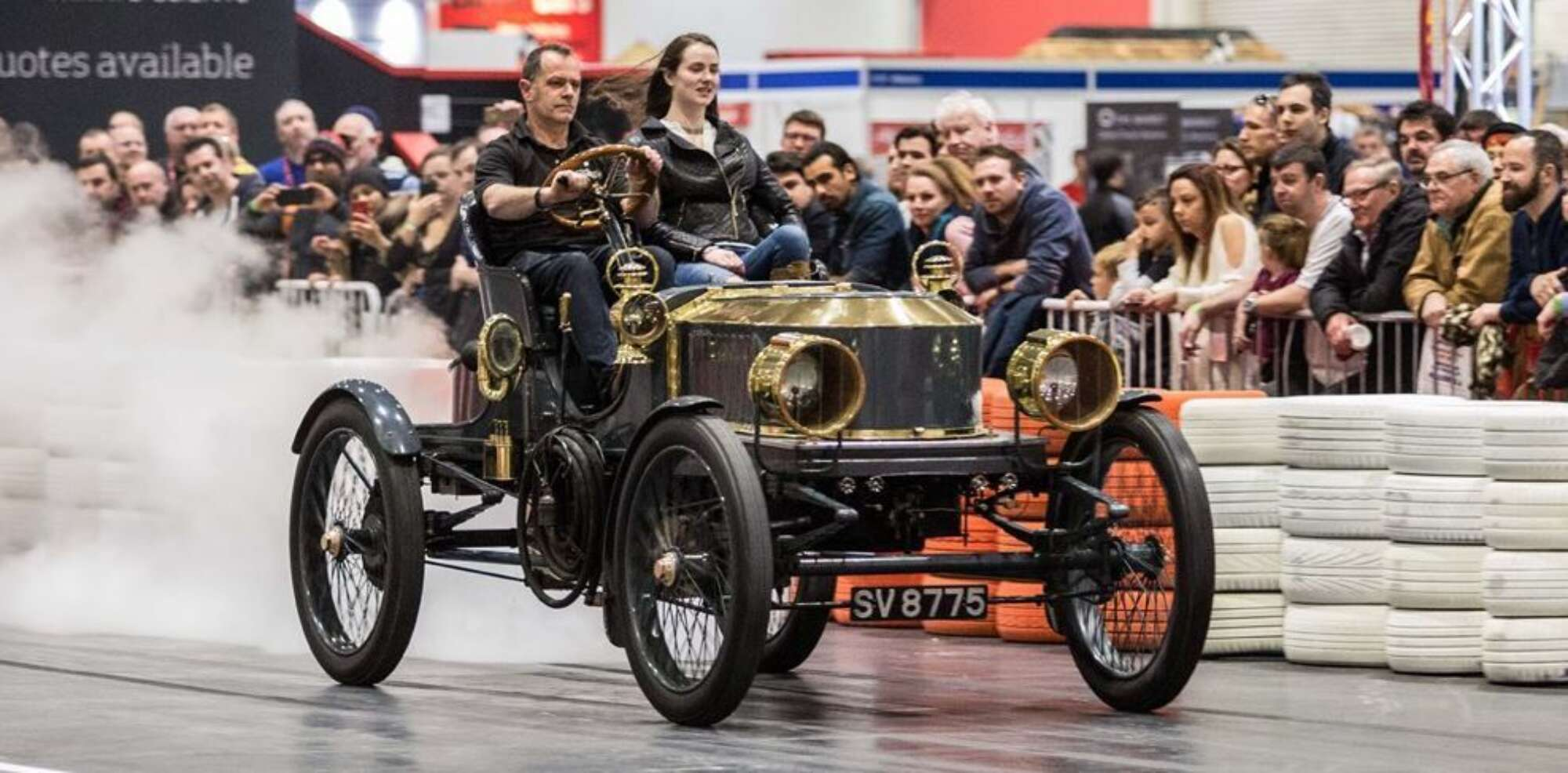 Ers Returns To The London Clic Car Show Uk S Most
