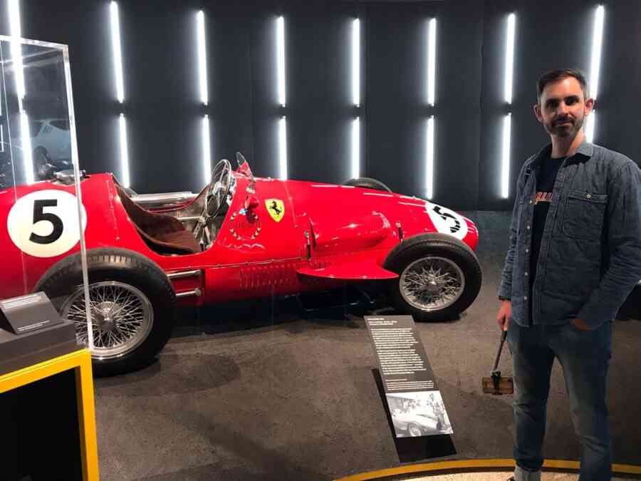 Ferrari Exhib No 5 Red