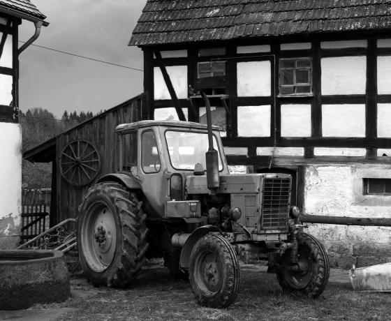 Promorow Tractor